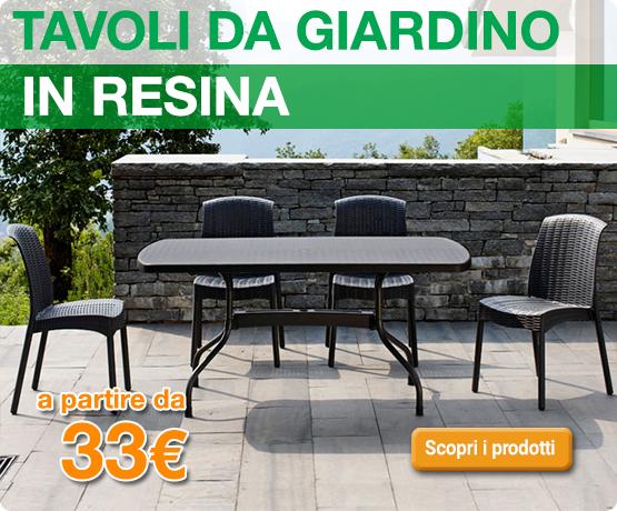 Arredamento giardino prezzi mobili da giardino barbeque for Mobili giardino resina