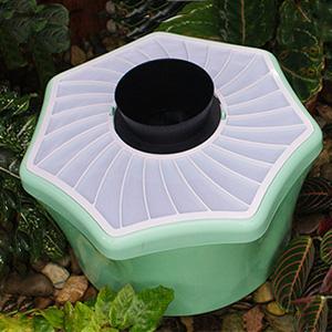 Trappole per zanzare vespe e talpe arredo for Talpe in giardino