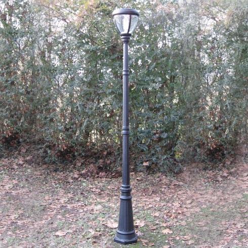 Lampione da giardino solare preziosa a led arredo for Lampioni da giardino a sfera