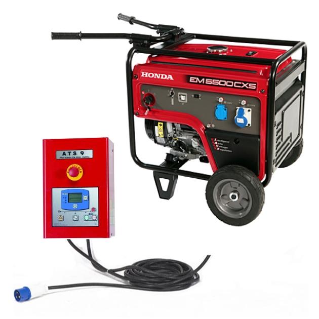 Generatore honda con avviamento automatico gruppo for Generatore emergenza casa