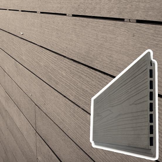 Listello Decking WPC legno Composito per Rivestimenti esterni - al mq  Arredo-Giardino.com