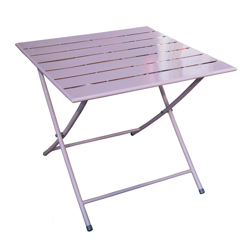 Tavolo pieghevole MONOPOLI in ferro colorato  Arredo-Giardino.com