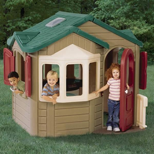 Casetta per bambini gran villa arredo - Casette per bambini da giardino ...