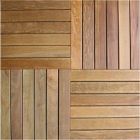Pavimentazione quadrotte di legno per esterni lapacho - Pavimentazione giardino in legno ...