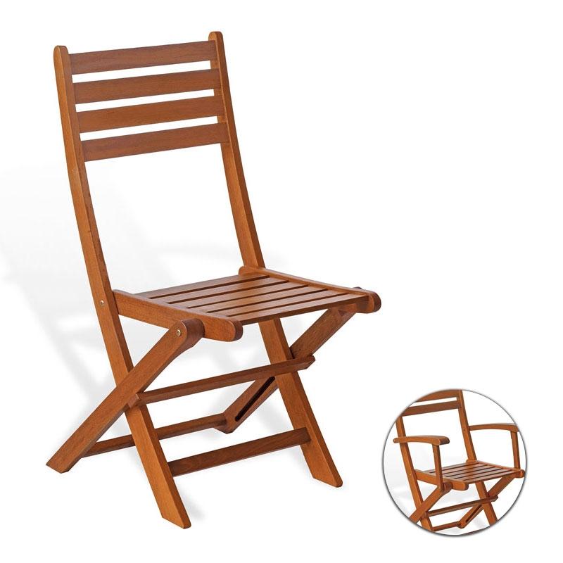 Sedie In Legno Richiudibili.Sedia E Poltrona In Legno Di Keruing Ciclamino Pieghevole Arredo