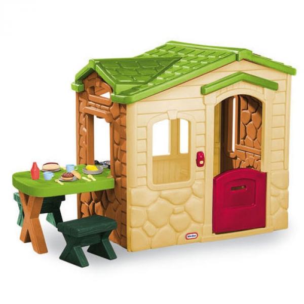 Casetta per bambini pic nic little tikes arredo for Case per bambini da giardino