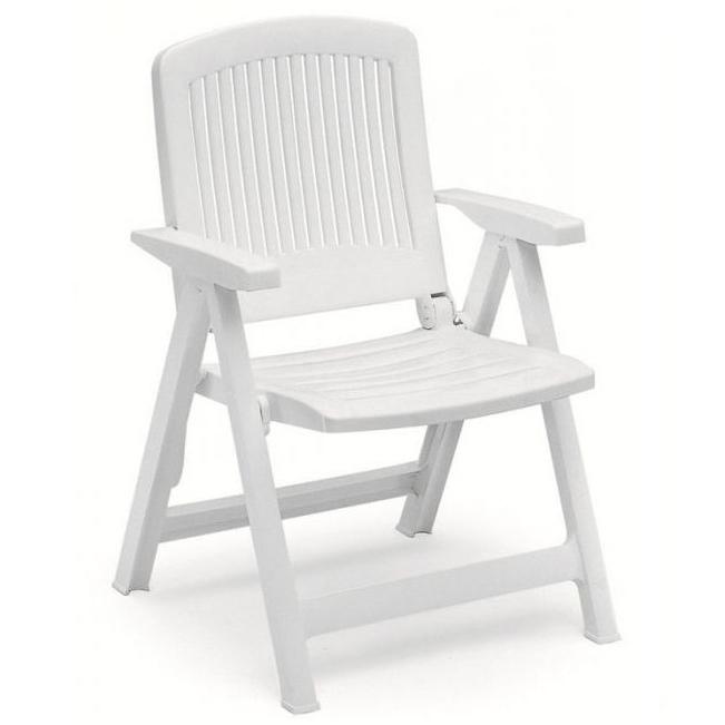 Sedie Di Plastica Pieghevoli.Poltrona Pieghevole Da Giardino Liz In Resina By Scab