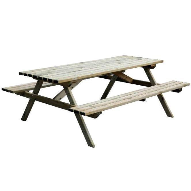 Set tavolo picnic ameral in legno arredo for Set giardino legno