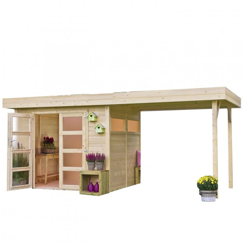 Casetta in legno vermont 3 03 x 2 45 m da giardino for Articoli x giardino