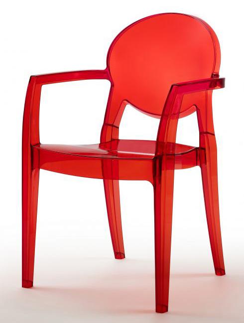 sedie e poltrone scab in policarbonato bayer arredo