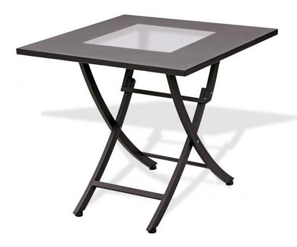 Tavoli da esterno in ferro pieghevoli decora la tua vita - Tavoli ferro battuto da esterno ...