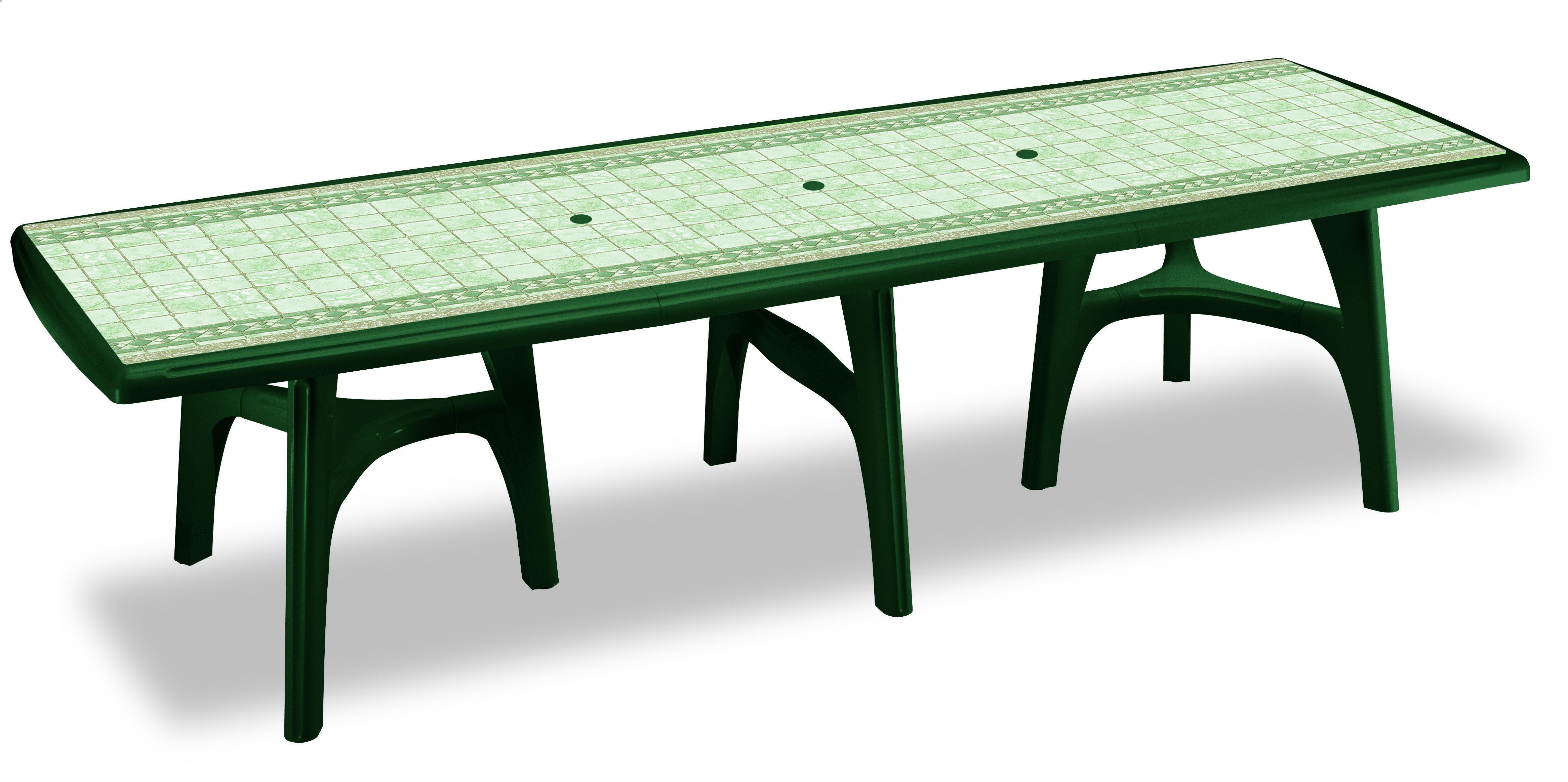 Tavolo Giardino Plastica Verde.Tavolo Da Giardino President 3000 In Resina Allungabile By Scab