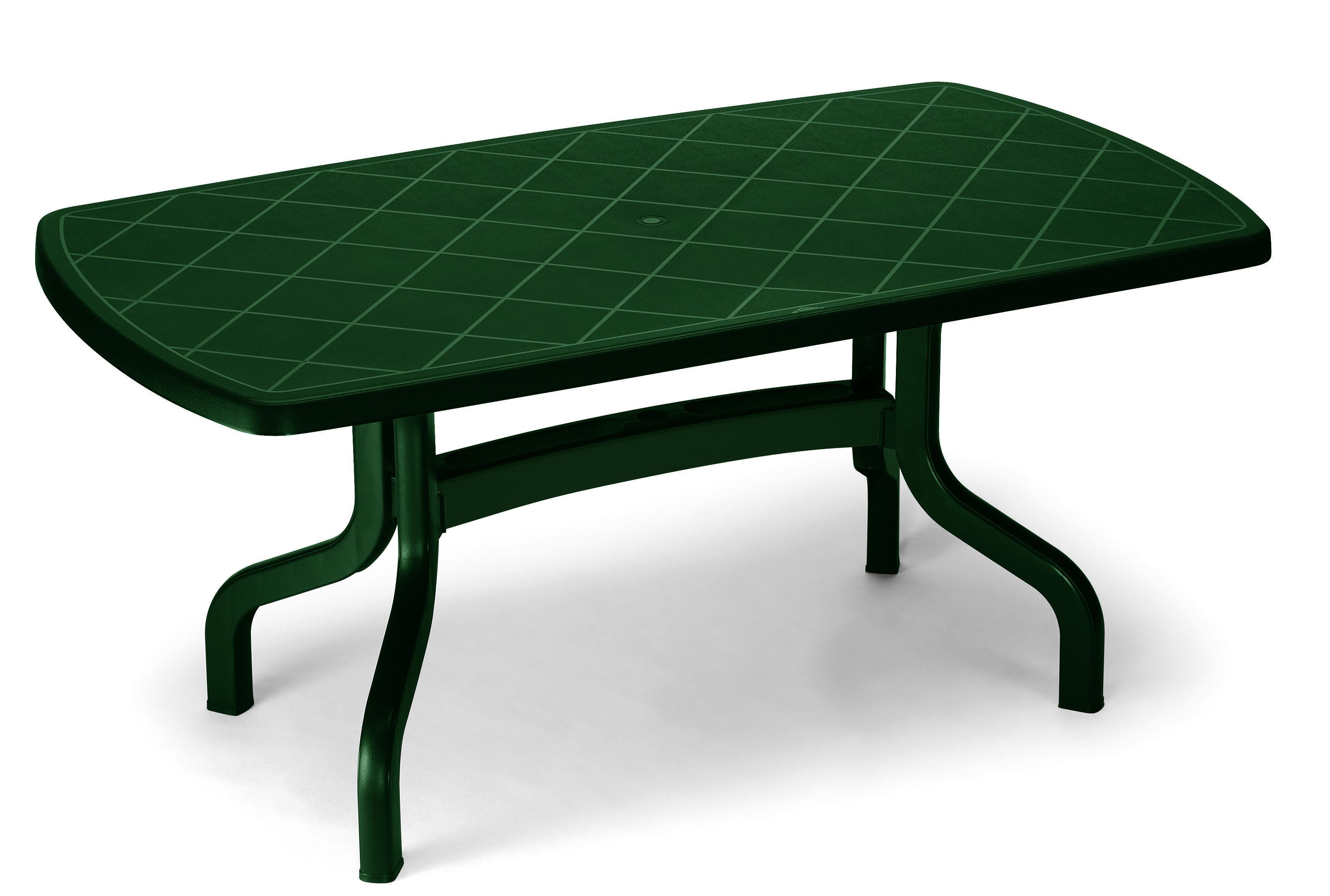 tavolo da giardino ribalto 160 x 90 contract in resina by