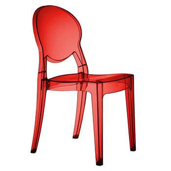 Sedia IGLOO CHAIR Rosso by Scab