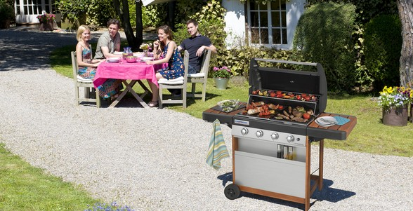 Barbecue a gas 4 Series Woody
