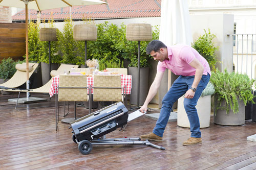 Barbecue 2 Series Compact LX a Trolley