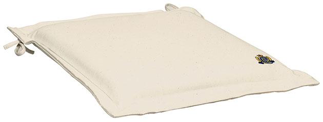 Cuscino per seduta 38x38 cm con volant Regarden