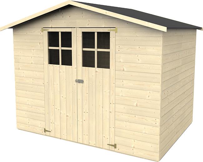 Casetta in legno da giardino Senna