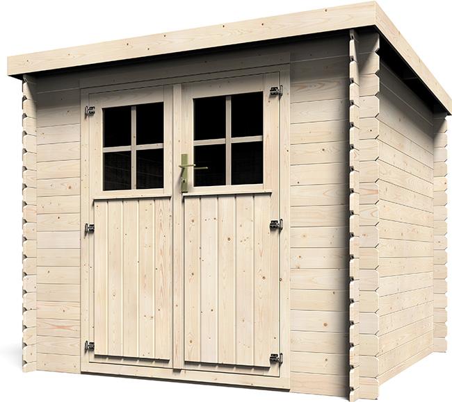 Casetta in legno da esterno Alpe