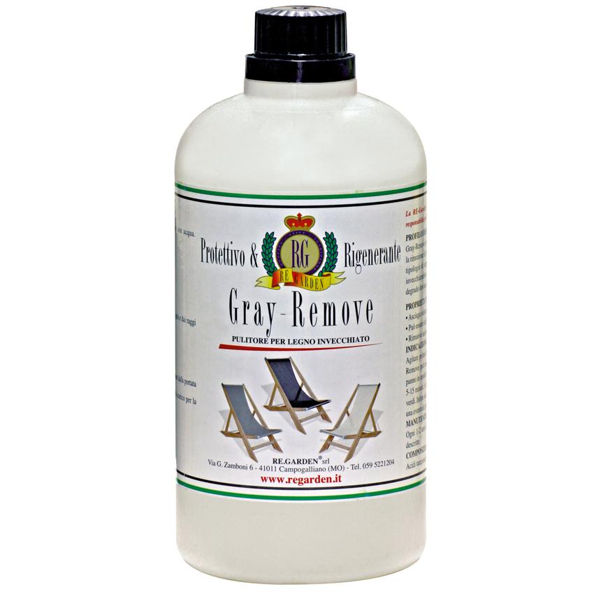 Grey Remover per pulizia e mantenimento legno