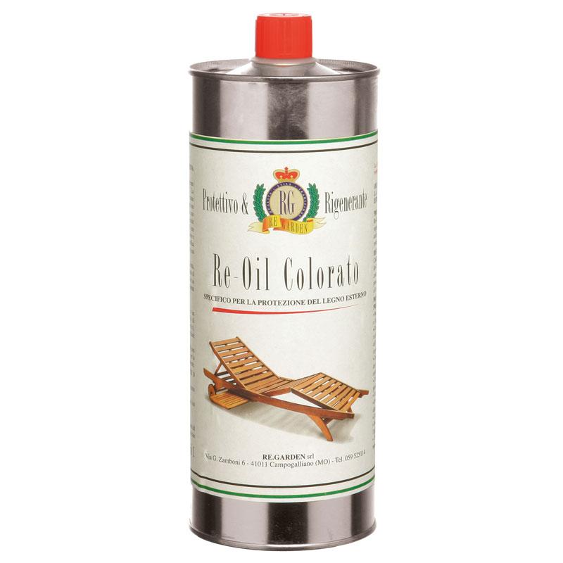Olio colorato per legno di keruing Re-Oil