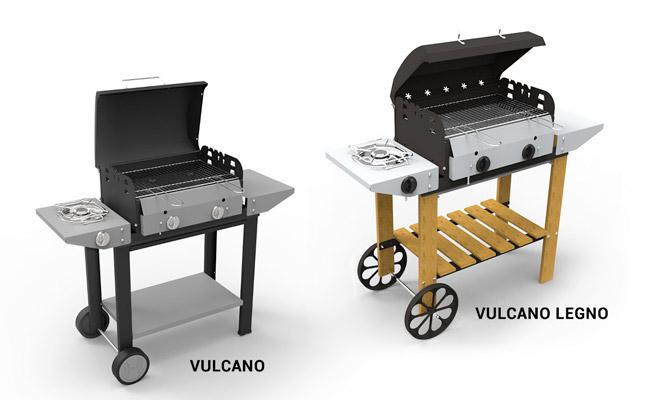 Barbecue Vulcano Ferraboli