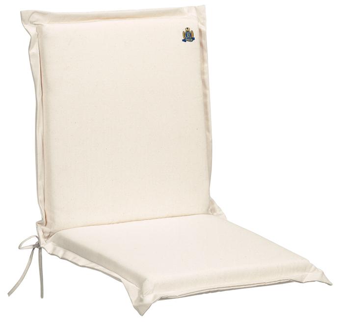 Cuscini per poltrona bassa 92x46 cm con volant by Regarden