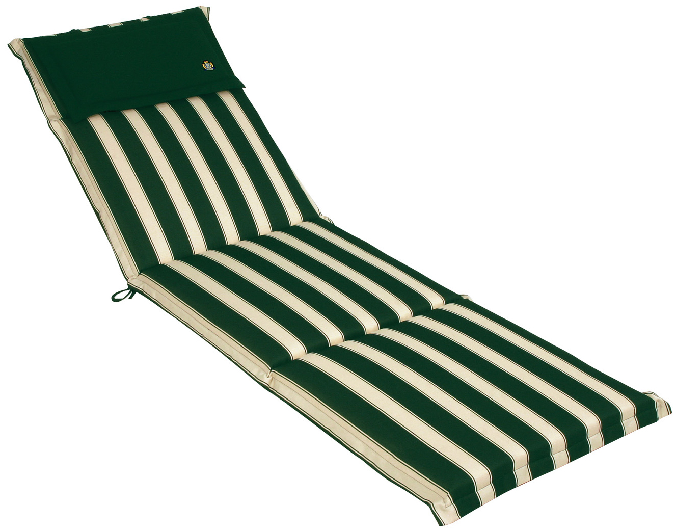 Cuscino per lettino prendisole 196x58 cm con volant - Cuscini per sdraio da giardino ...