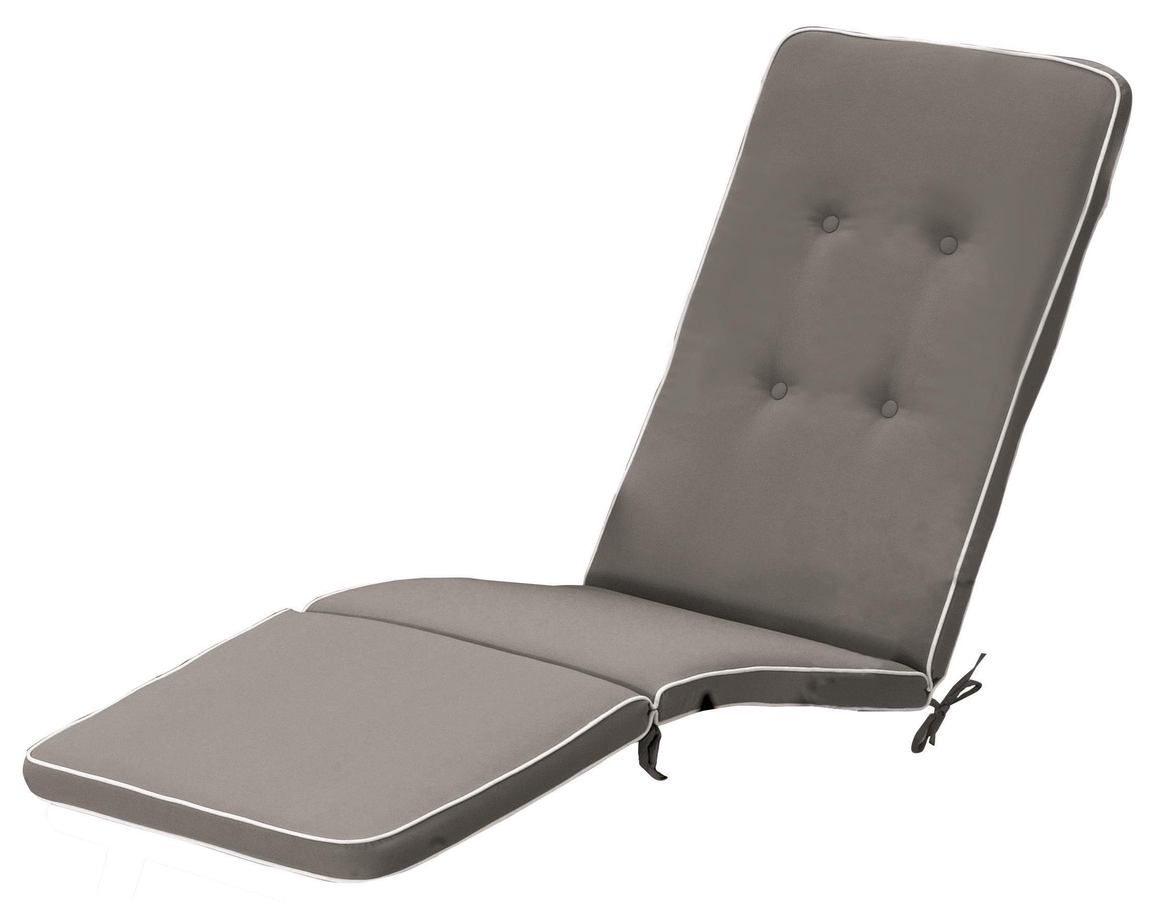 Cuscino per deckchair con bordino decorativo