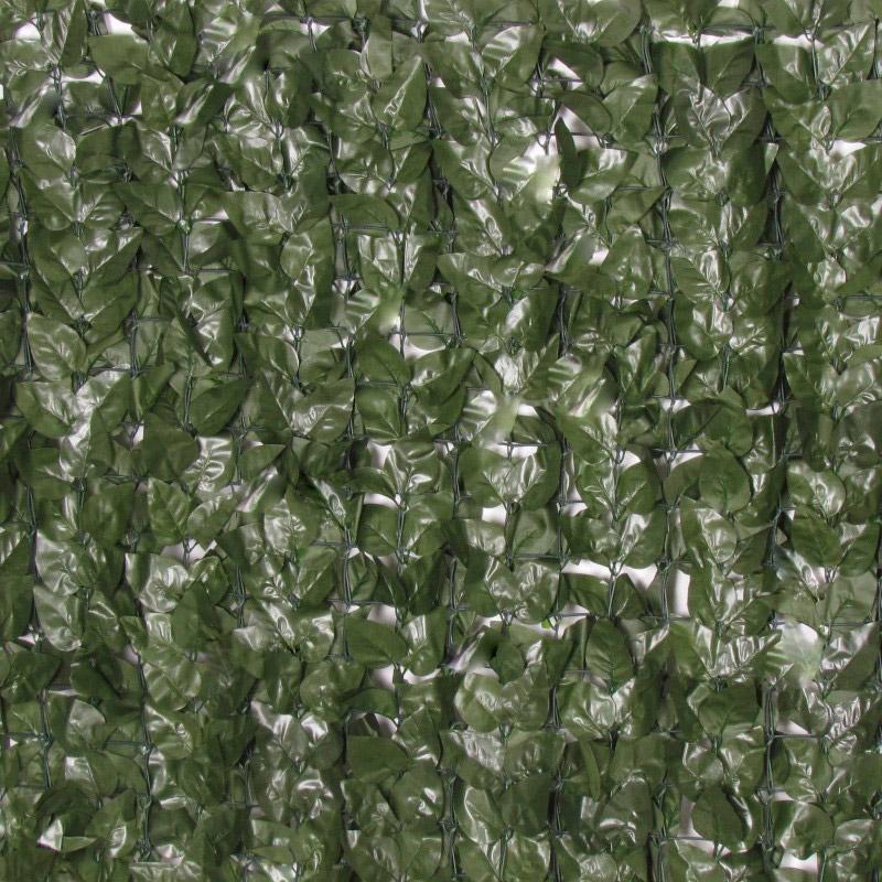 Siepe artificiale Double Face in PVC a rotolo 300 x 100 cm