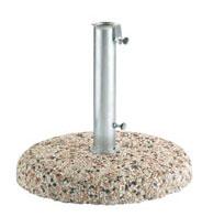 Base in graniglietto per ombrelloni Ø 45 cm