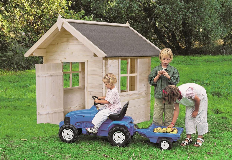 Casetta giocattolo in legno bimbi 1 28 x 1 28 m arredo for Casetta giardino bimbi usata