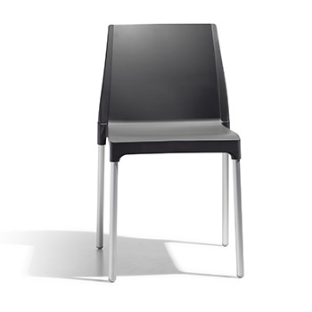Sedia CHLOE CHAIR Antracite by Scab