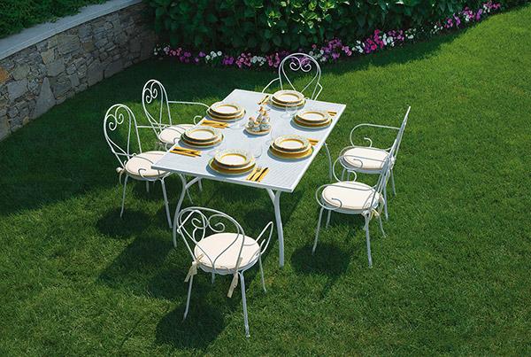 Sedie Da Giardino In Ferro : Sedia da giardino in ferro sirmione impilabile arredo giardino