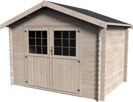 casetta in legno da giardino Calla non trattato