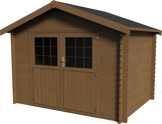 casetta in legno da giardino Calla trattato