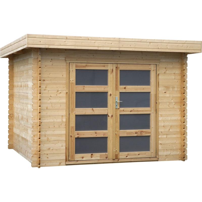 Casetta in legno camelia da esterno 3 26 x 3 34 x h 2 23 m - Camelia pianta da esterno ...