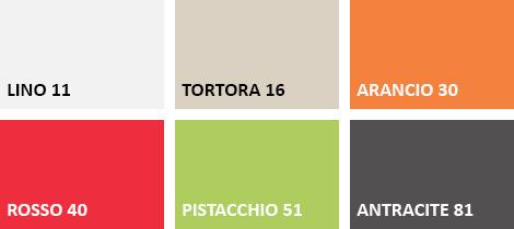 Lista colori poltrona COCCOLONA