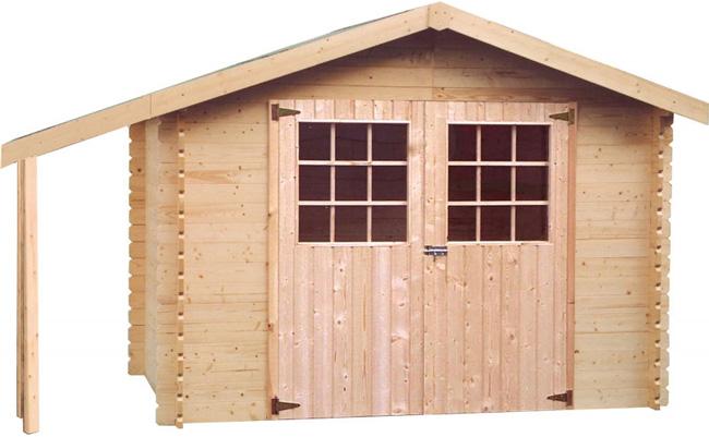 Casetta di legno da giardino Dora