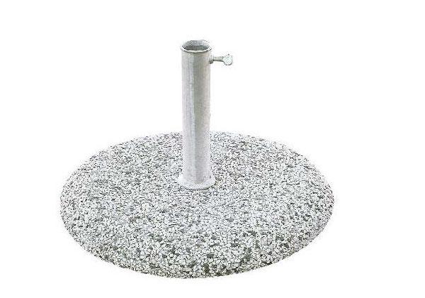 Base ombrellone cemento e graniglia