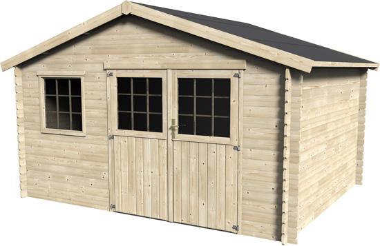 Casetta di legno da giardino Gelso