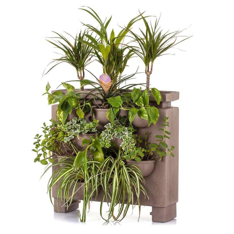 Fioriera verticale da giardino in polietilene ORTO di GIULIO