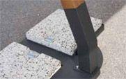 Ombrellone RELAX in legno a braccio laterale, girevole