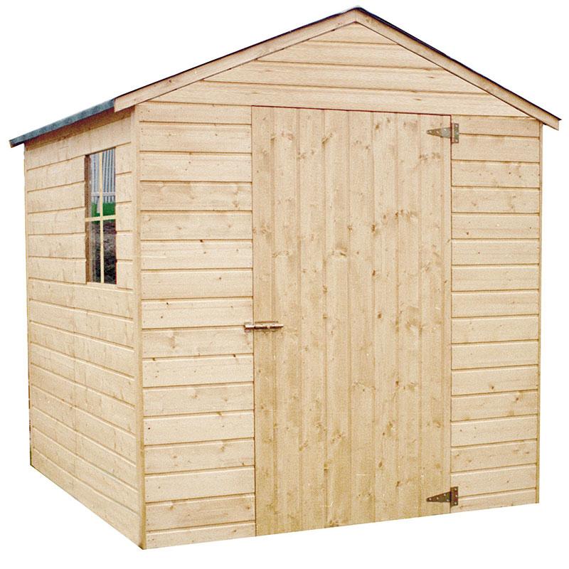 Casetta in legno rodano 1 99 x 1 96 m da esterno arredo for Guaina bituminosa leroy merlin