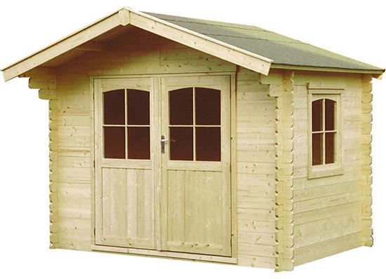 Casetta di legno da giardino
