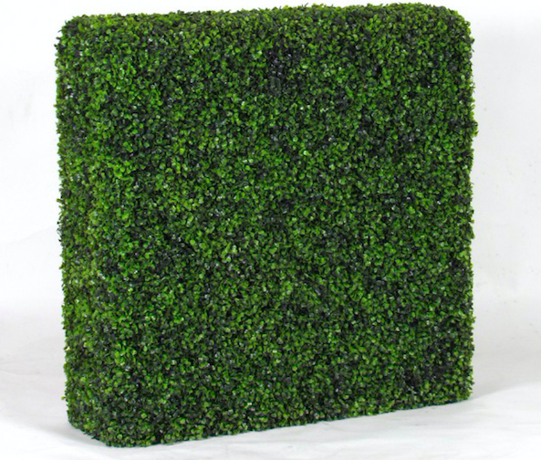 Siepe artificiale buxus a blocchi for Siepe edera artificiale