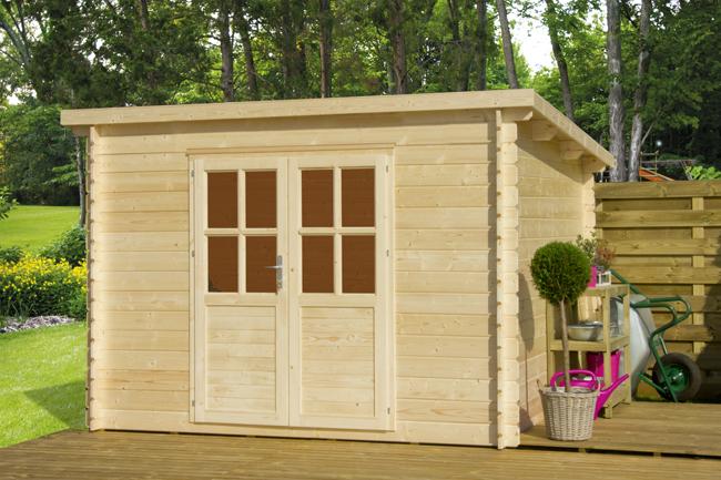 Casetta in legno da giardino