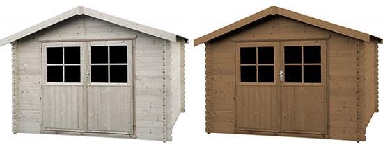 Casetta di legno da giardino valerie