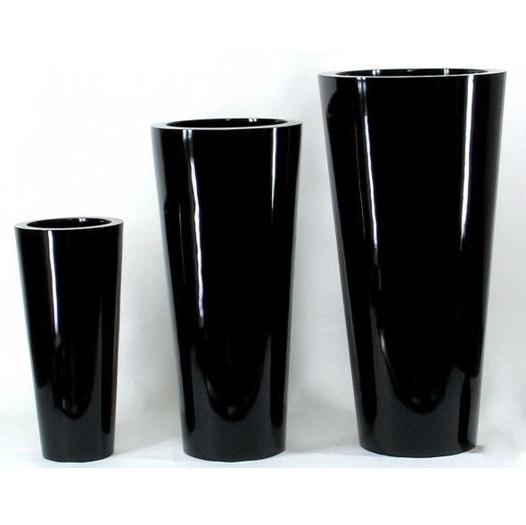 Vaso cilindrico laccato lucido