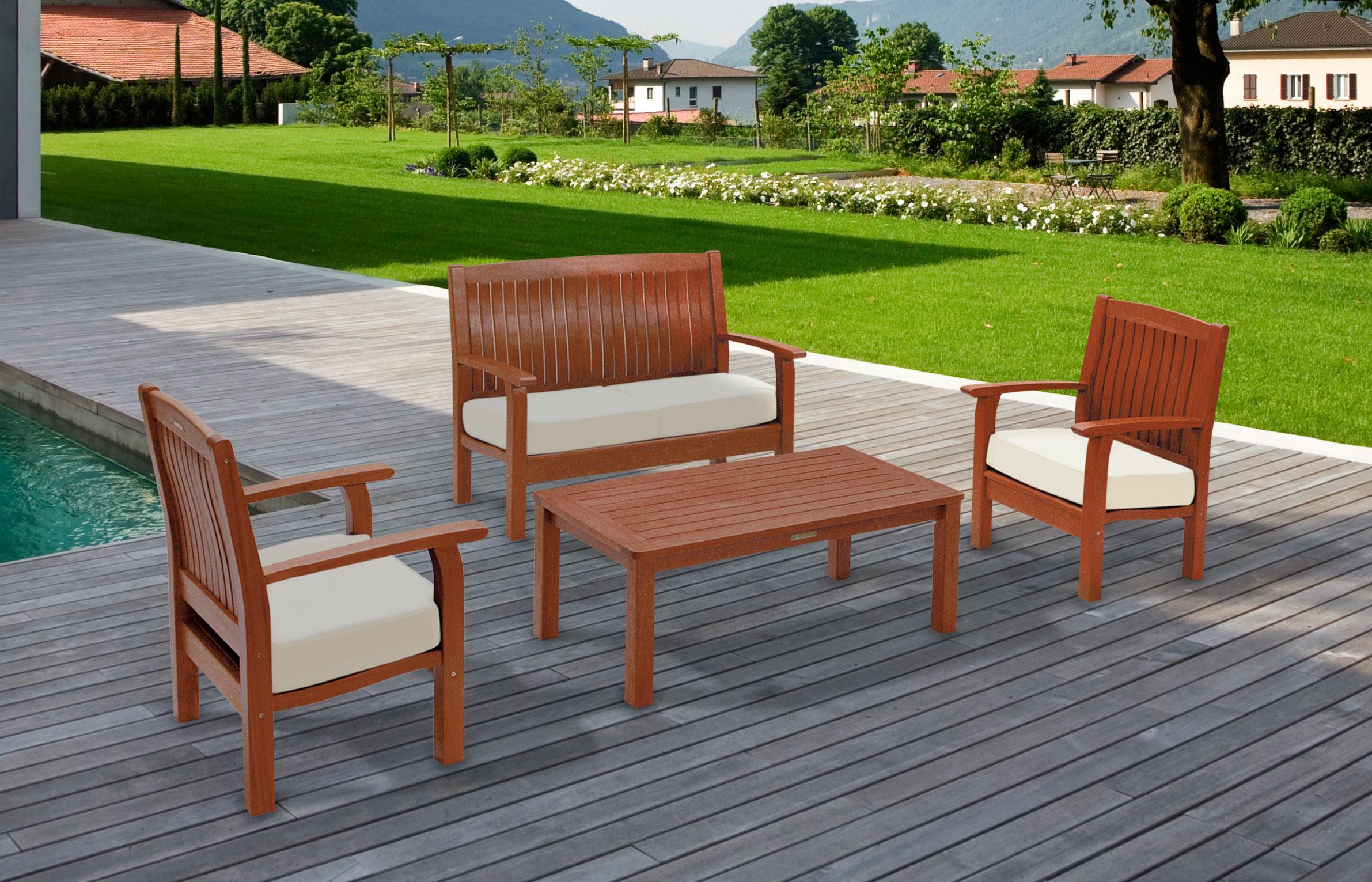 Mobili per esterno in legno : Arredo giardino in legno prezzi ~ mobilia la tua casa
